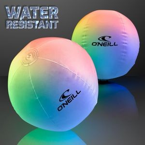 Light Up Beach Ball w/Color Change LEDs