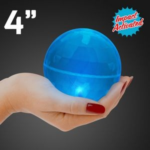 Super Sized Blue Air Bounce Ball w/ LED Lights